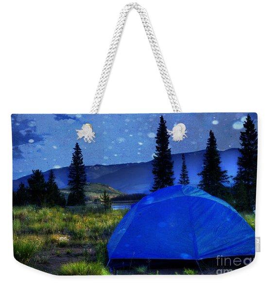 Sleeping Under The Stars Weekender Tote Bag