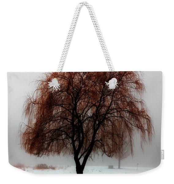 Sleeping Willow Weekender Tote Bag