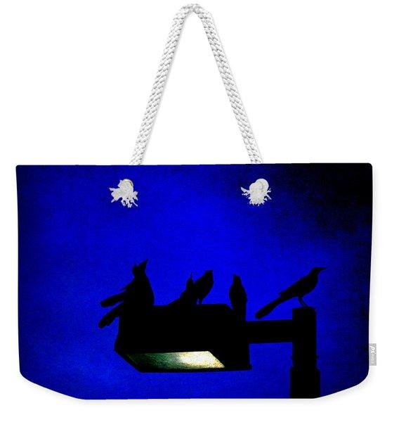 Sleepless At Midnight Weekender Tote Bag