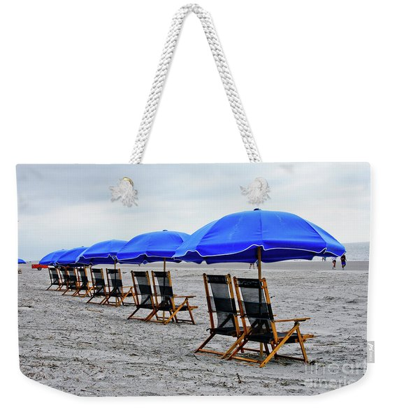 Slow Day At The  Beach Weekender Tote Bag