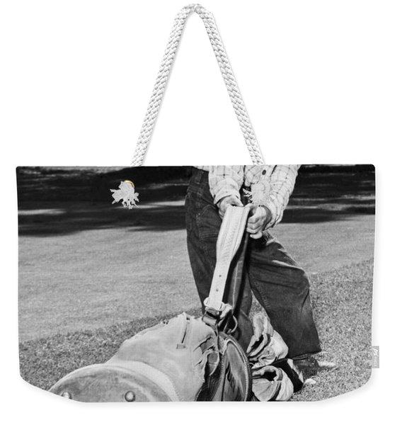 Small Boy Totes Heavy Golf Bag Weekender Tote Bag
