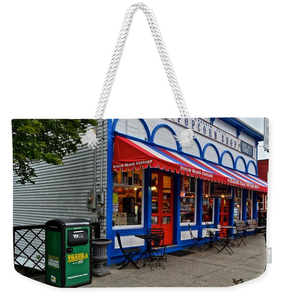 Small Town Charm Weekender Tote Bag