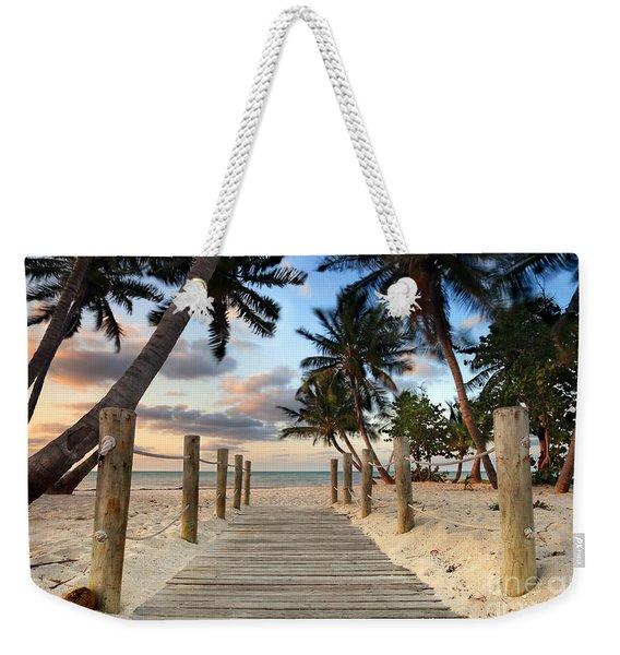 Smathers Beach 2 Weekender Tote Bag