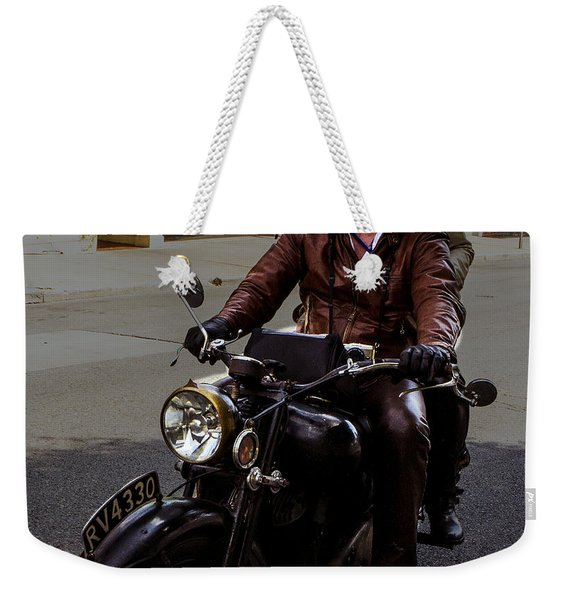 Smiling Into Cape Girardeau Weekender Tote Bag