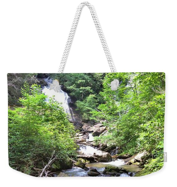 Smith Creek Downstream Of Anna Ruby Falls - 3 Weekender Tote Bag