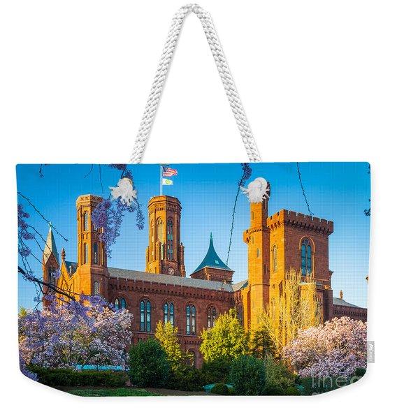Smithsonian Castle Weekender Tote Bag