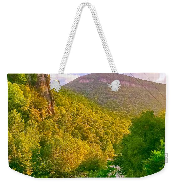 Smoke Hole Canyon Weekender Tote Bag