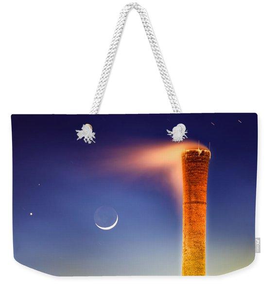 Smokestack Nightsky Weekender Tote Bag