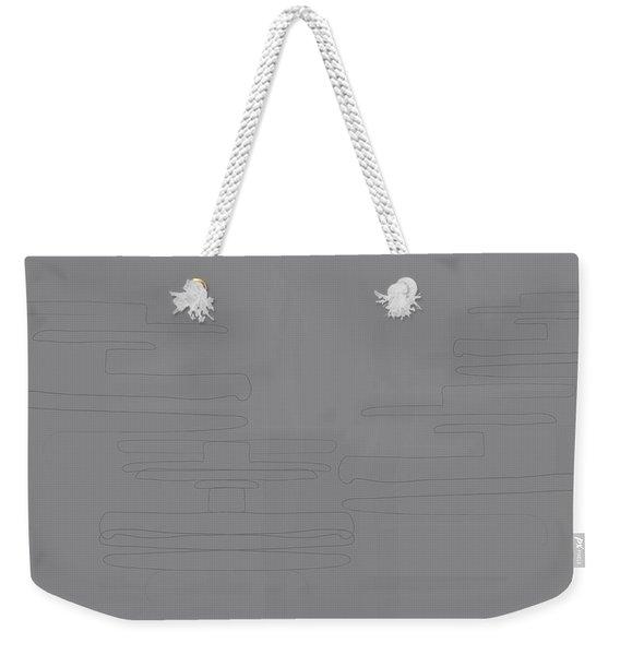 Smoky Cliff Weekender Tote Bag