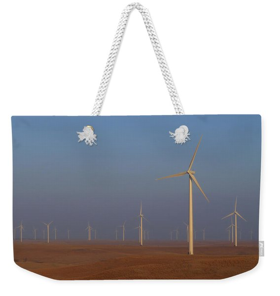 Smoky Hills Wind Project Weekender Tote Bag