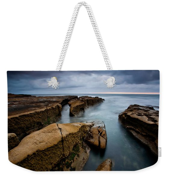 Smooth Seas Weekender Tote Bag