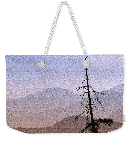 Snag On The Hill Weekender Tote Bag