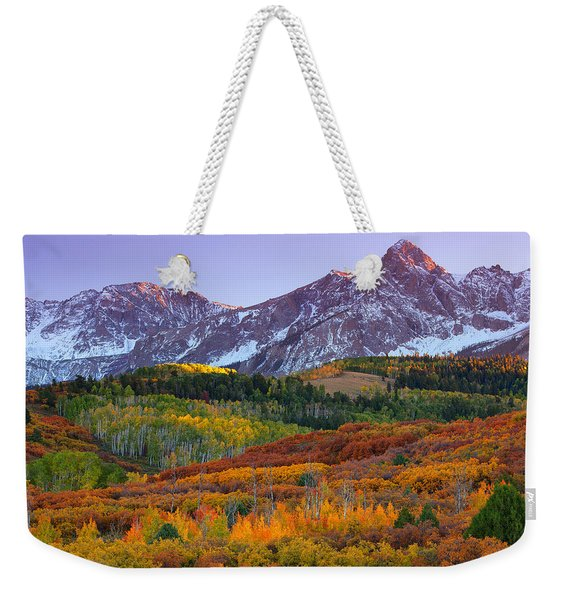 Sneffels Sunrise Weekender Tote Bag