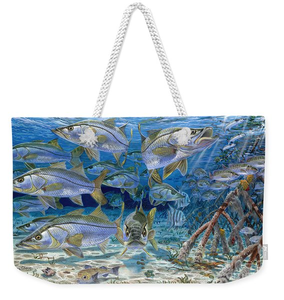 Snook Cruise In006 Weekender Tote Bag