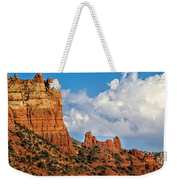 Weekender Tote Bag featuring the photograph Snoopy Rock by Jemmy Archer