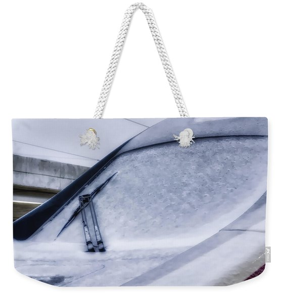Snow On The Train Weekender Tote Bag