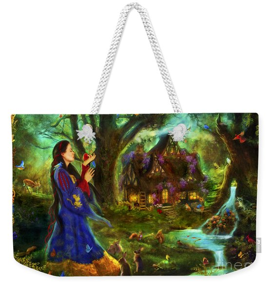 Snow White Weekender Tote Bag