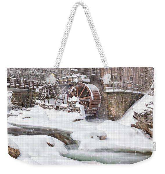 Snowglade Creek Grist Mill Weekender Tote Bag