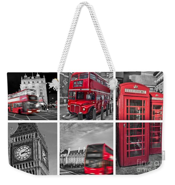 So British Weekender Tote Bag