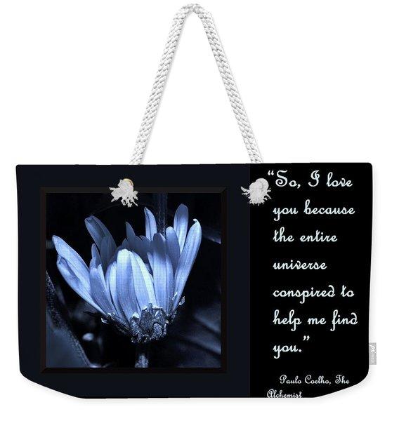 So I Love You Weekender Tote Bag