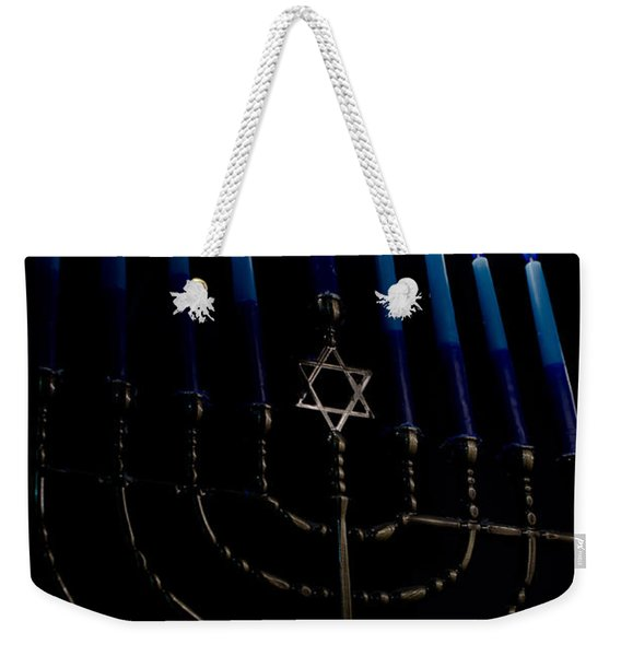 So Let Your Light Shine Weekender Tote Bag