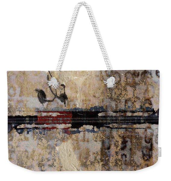 So Linear Square Weekender Tote Bag