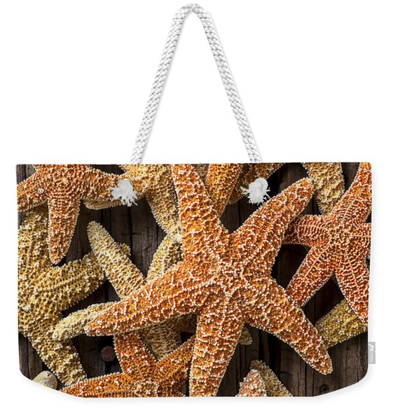 So Many Starfish Weekender Tote Bag