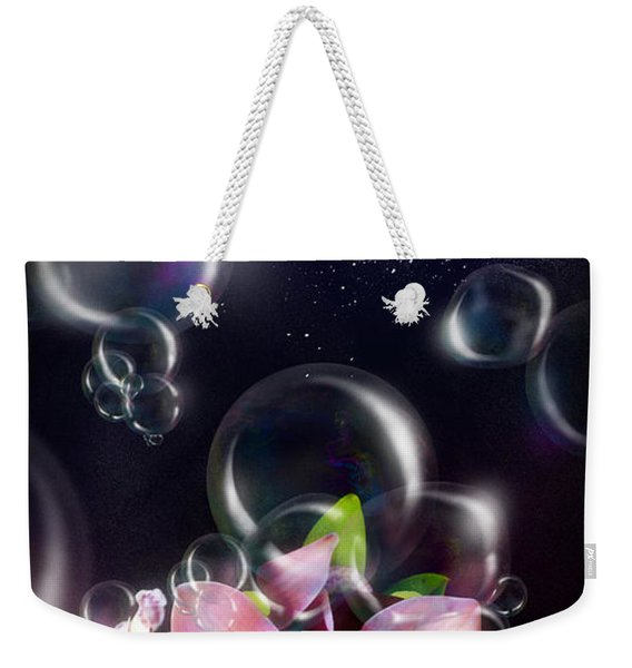 Soap Bubbles Weekender Tote Bag