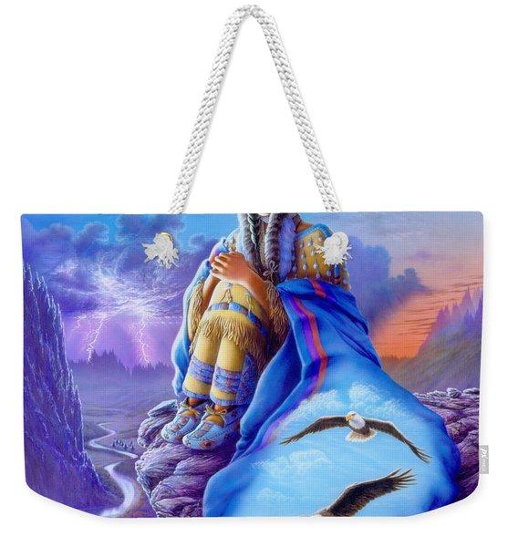 Soaring Spirit Weekender Tote Bag