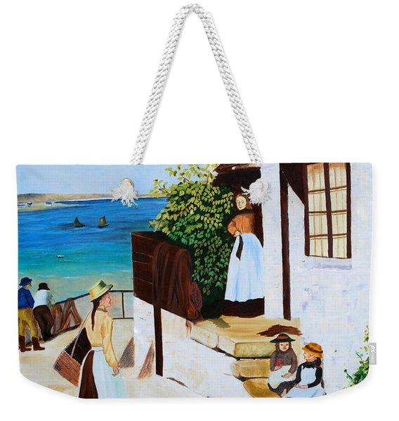 Social Harmony Weekender Tote Bag