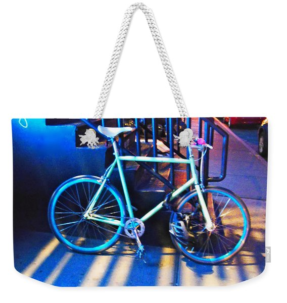 Soho Bicycle  Weekender Tote Bag