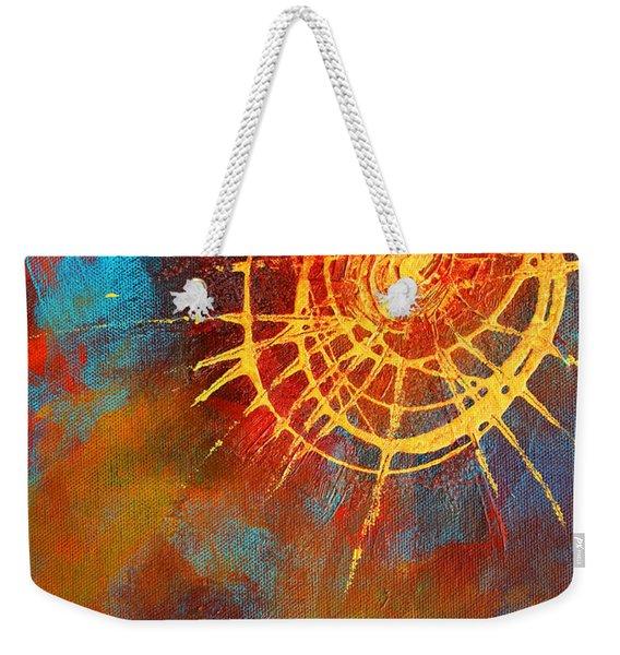 Solar Weekender Tote Bag
