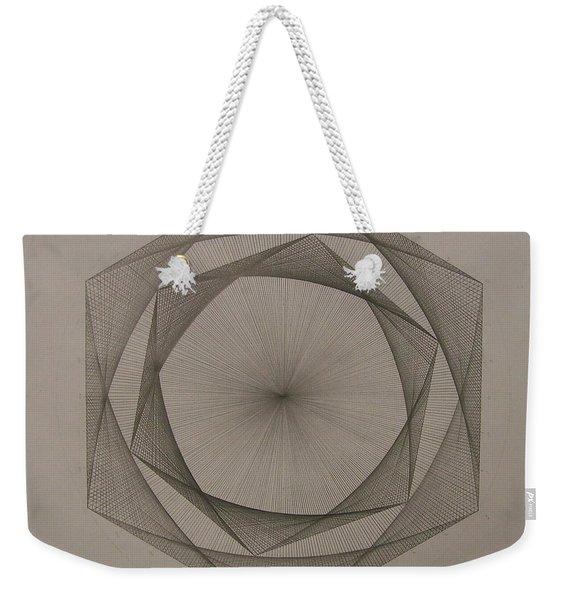 Solar Spiraling Weekender Tote Bag