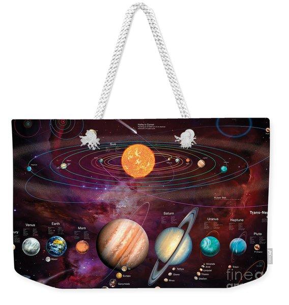 Solar System 1 Weekender Tote Bag