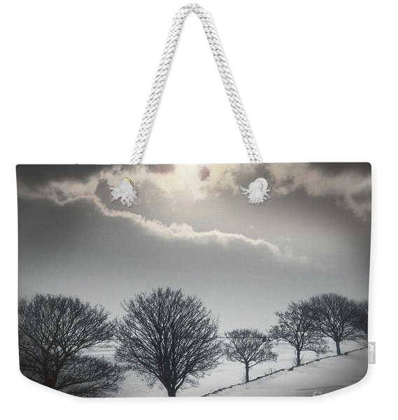 Solitude Of Coldness Weekender Tote Bag