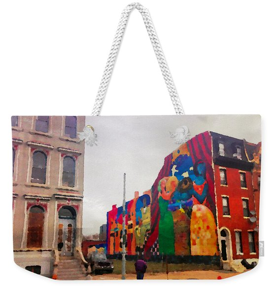 Some Color In Philly Weekender Tote Bag