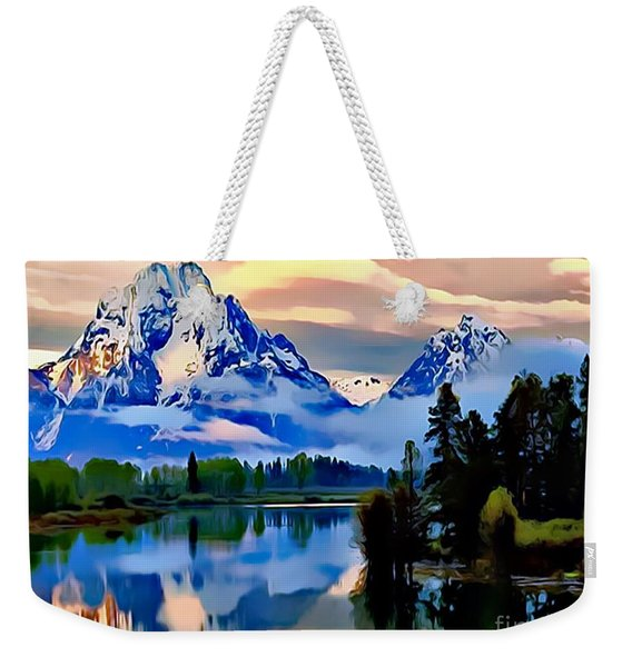 Some Place Some Where Weekender Tote Bag