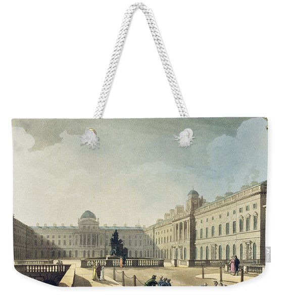 Somerset House, Strand, From Ackermanns Weekender Tote Bag