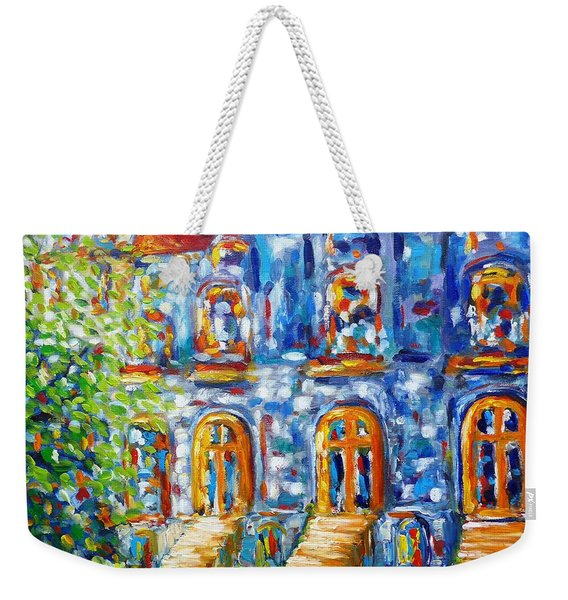 Somewhere In Montreal - Cityscape Weekender Tote Bag