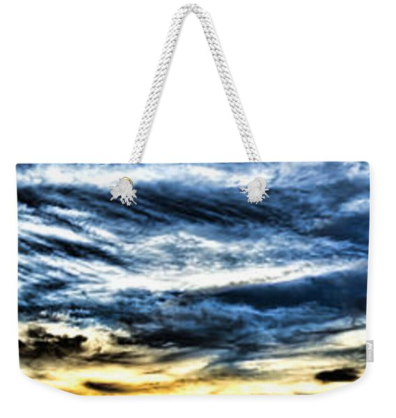 Somewhere On Earth Weekender Tote Bag