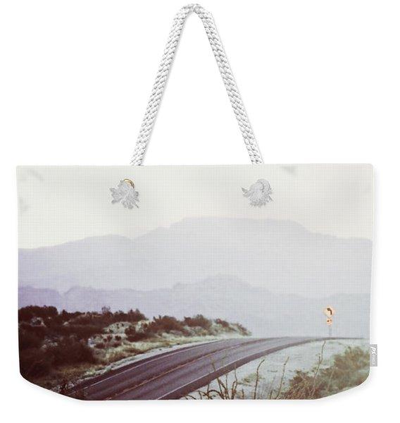 Somewhere Weekender Tote Bag