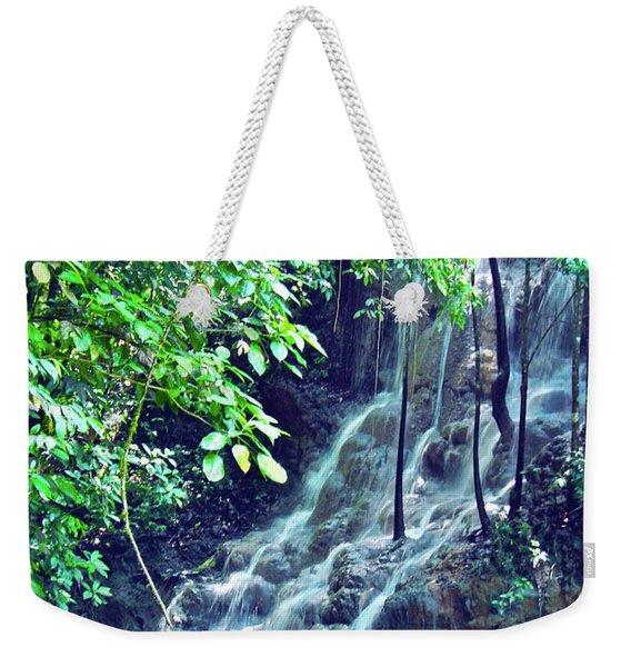 Sommerset Falls Jamaica Weekender Tote Bag