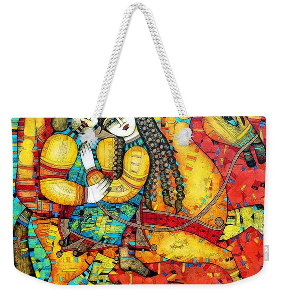 Sonata For Two And Unicorn Weekender Tote Bag