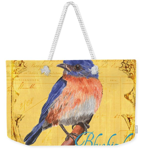 Colorful Songbirds 1 Weekender Tote Bag