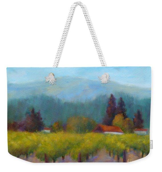 Sonoma Valley View Weekender Tote Bag