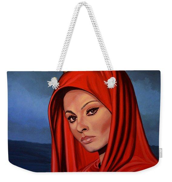 Sophia Loren 2  Weekender Tote Bag