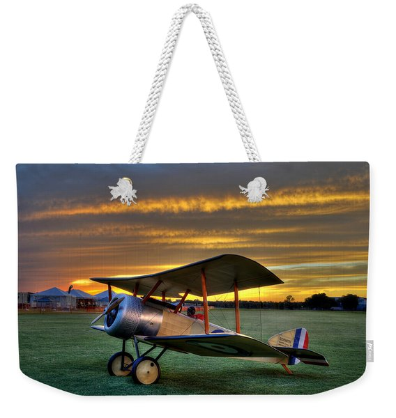 Sopwith Sunset Weekender Tote Bag