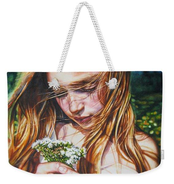 Soul Blossoms Weekender Tote Bag