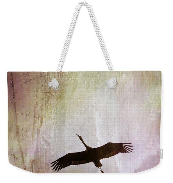 Soul Flying Weekender Tote Bag