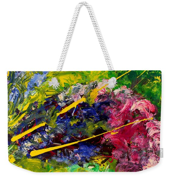Modern Contemporary Diptych Part 2 Weekender Tote Bag